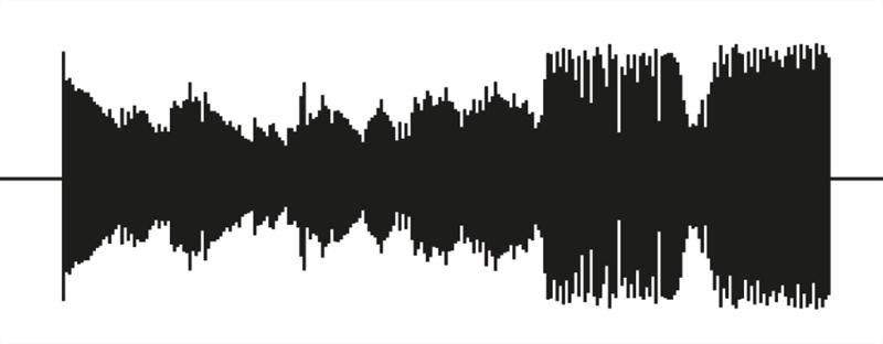 benga i will never change music video vinyl soundwave by us 1 Music Video Recreates Waveform Using 960 Vinyl Records