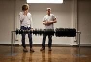 Music Video Recreates Waveform Using 960 Vinyl Records