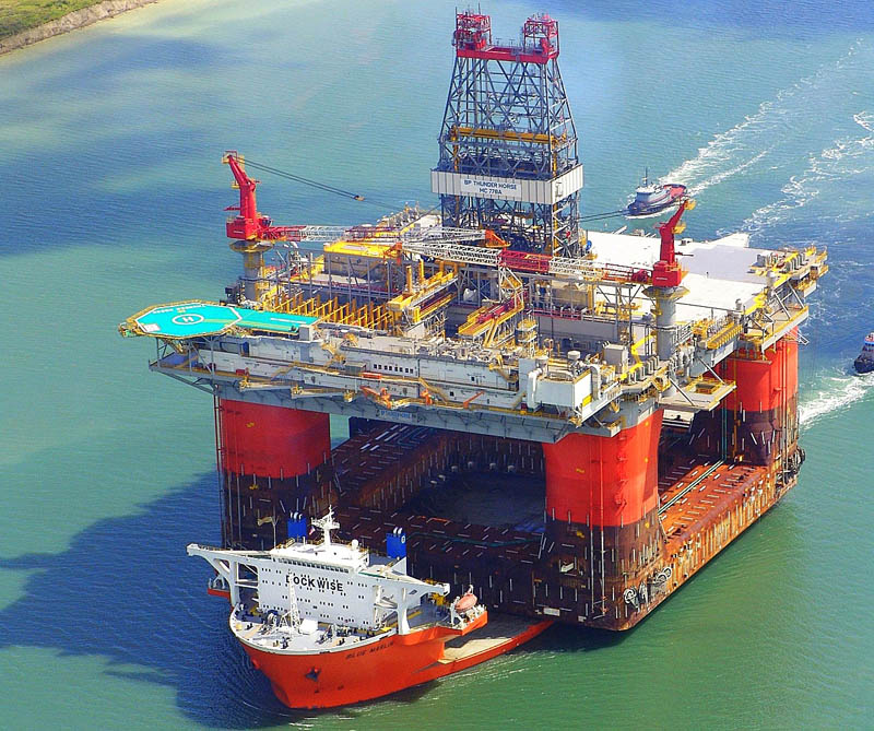 blue marlin heavy lift ship transports rigs and other ships 3 Blue Marlin: The Giant Ship That Ships Other Ships