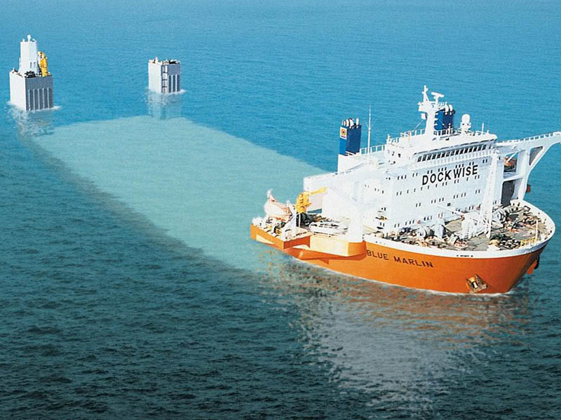 blue marlin heavy lift ship transports rigs and other ships 5 Blue Marlin: The Giant Ship That Ships Other Ships