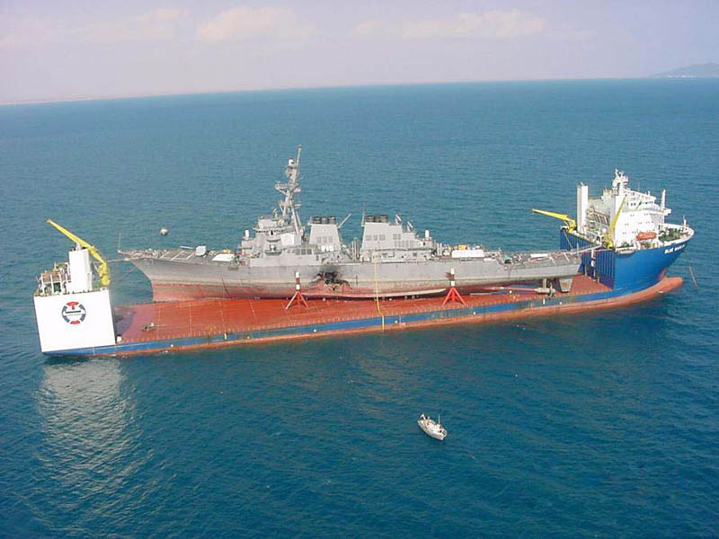 blue marlin heavy lift ship transports rigs and other ships 8 Blue Marlin: The Giant Ship That Ships Other Ships