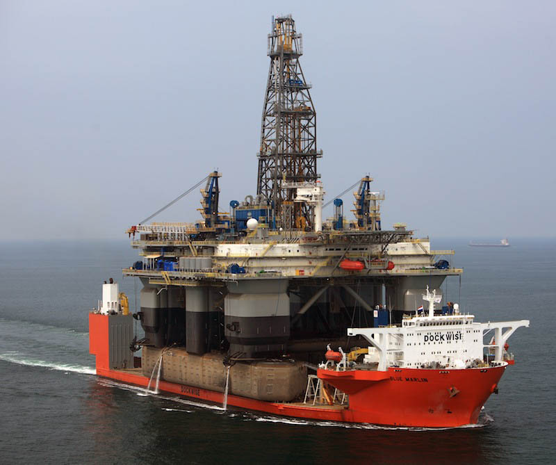 blue marlin heavy lift ship transports rigs and other ships 9 Blue Marlin: The Giant Ship That Ships Other Ships