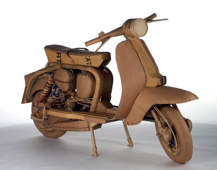 cardboard art sculptures chris gilmour 16 30 Amazing Sculptures Made out of Cardboard