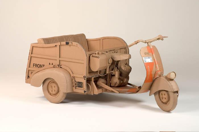 cardboard art sculptures chris gilmour 18 30 Amazing Sculptures Made out of Cardboard