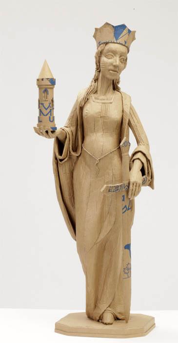cardboard art sculptures chris gilmour 30 30 Amazing Sculptures Made out of Cardboard