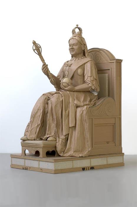 cardboard art sculptures chris gilmour 7 30 Amazing Sculptures Made out of Cardboard