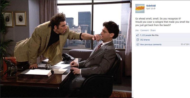 ck beach seinfeld 50 Glorious Moments on Seinfeld