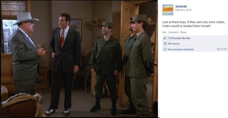 cubans seinfeld 50 Glorious Moments on Seinfeld