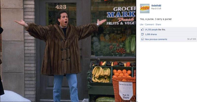 european handbag purse seinfeld 50 Glorious Moments on Seinfeld