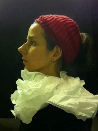 flemish portraiture recreated in airplane bathroom nina katchadourian 3 How Photographers Cure Boredom on Long Flights