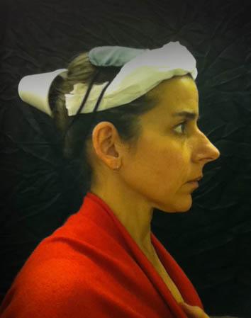 flemish portraiture recreated in airplane bathroom nina katchadourian 7 How Photographers Cure Boredom on Long Flights