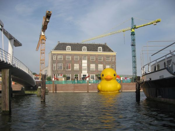 giant inflatable rubber duck florentijn hofman rotterdam 2 The World Travels of a Giant Rubber Duck
