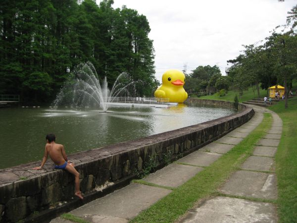 giant inflatable rubber ducky florentijn hofman sau paulo brazil 2 The World Travels of a Giant Rubber Duck