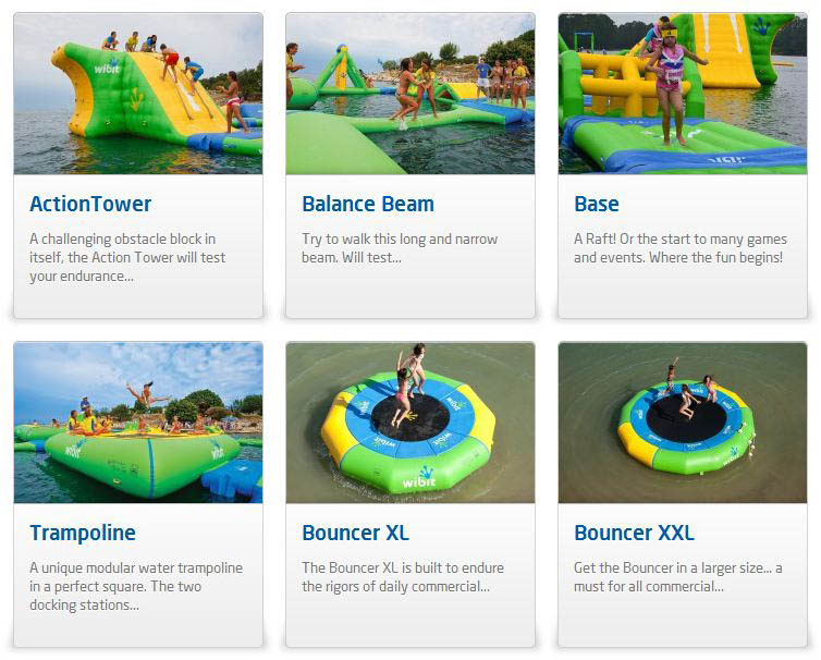 giant inflatable water parks wibit sports modular 13 The Most Amazing Inflatable Water Parks Ever