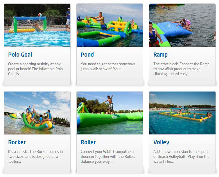giant inflatable water parks wibit sports modular 17 The Most Amazing Inflatable Water Parks Ever