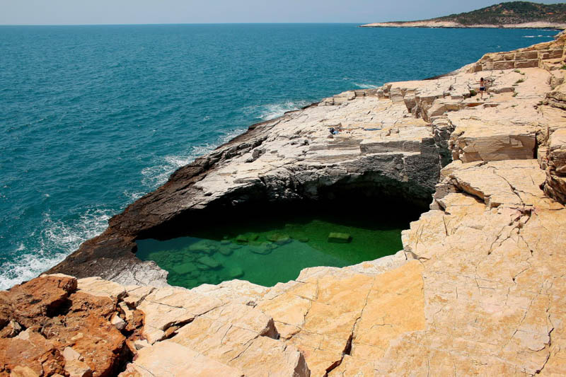 giola lagoon natural pool thassos greece 8 The Giola Lagoon in Greece