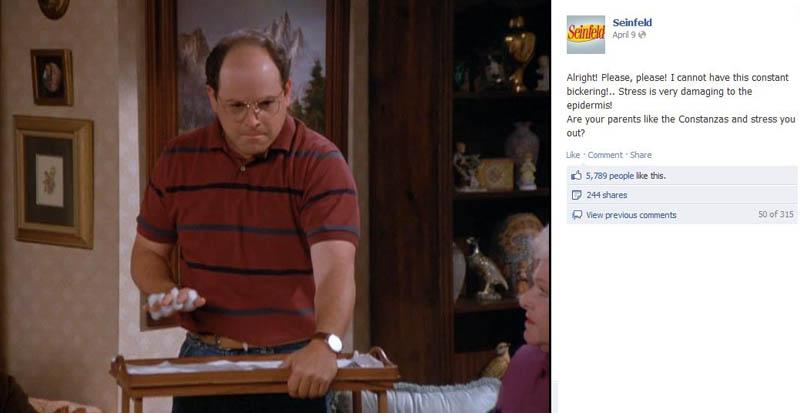 hand model seinfeld 50 Glorious Moments on Seinfeld