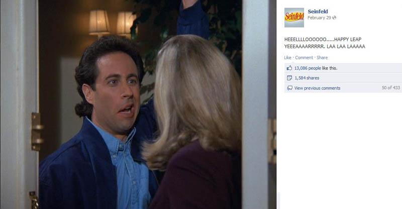 hello seinfeld 50 Glorious Moments on Seinfeld