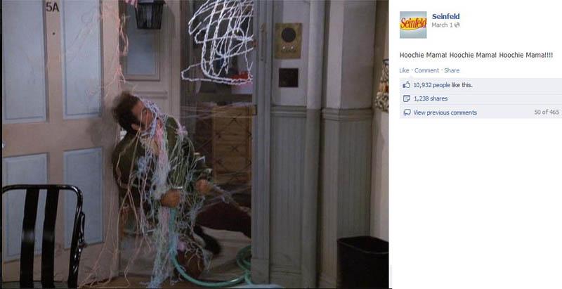 hoochie mama seinfeld 50 Glorious Moments on Seinfeld