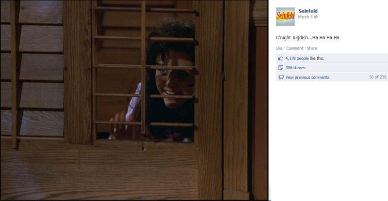 jugdish seinfeld 50 Glorious Moments on Seinfeld