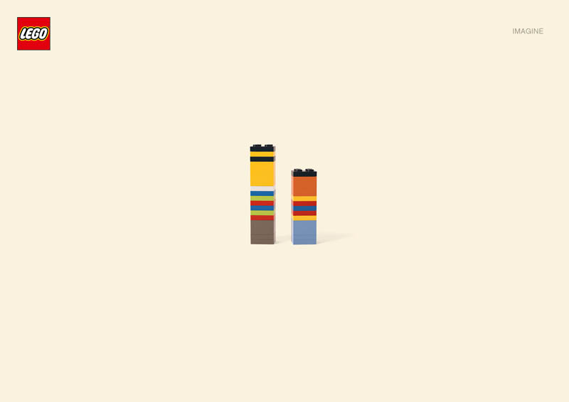lego ernieandbert Recreating Famous Cartoon Characters Using the Least Lego Pieces