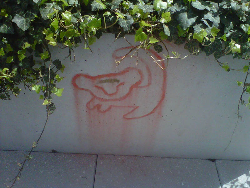 lion king simba graffiti street art return of the king Picture of the Day: Simba Was Here
