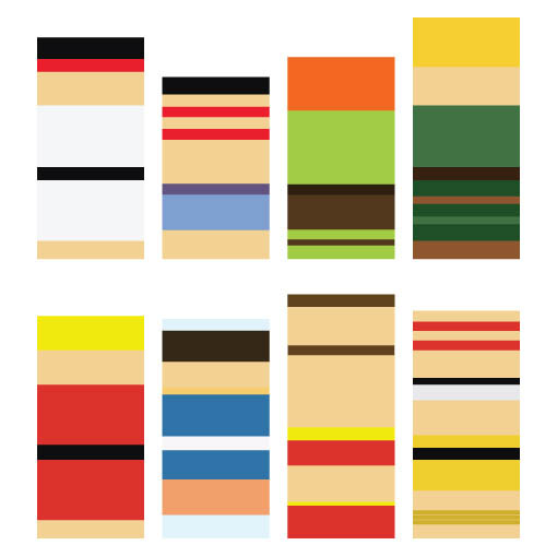 minimalist street fighter characters Recreating Famous Cartoon Characters Using the Least Lego Pieces
