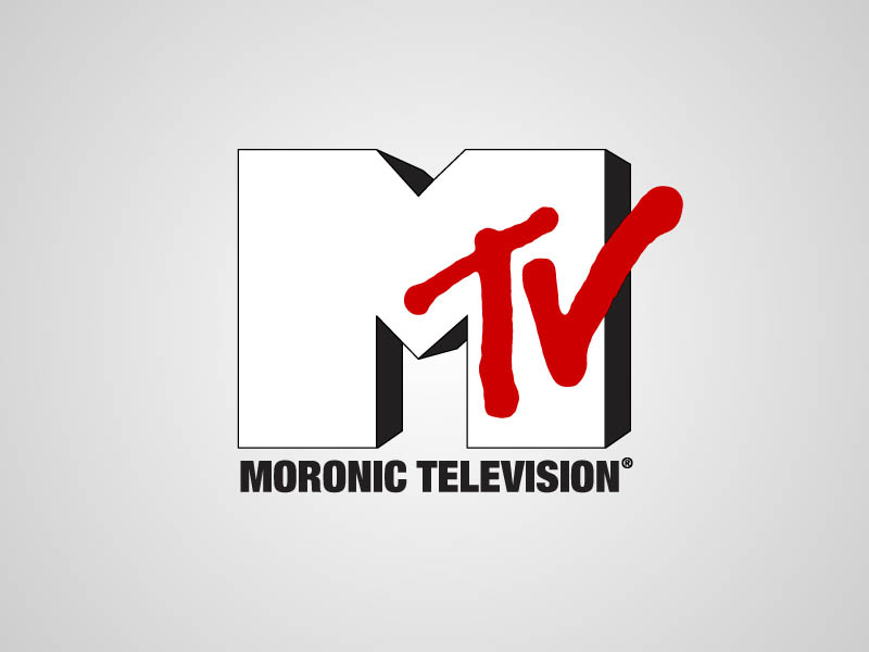 mtv funny honest logo What if Logos Told the Truth?