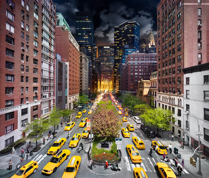 park avenue day to night in same photograph stephen wilkes Blending Day and Night into a Single Photograph