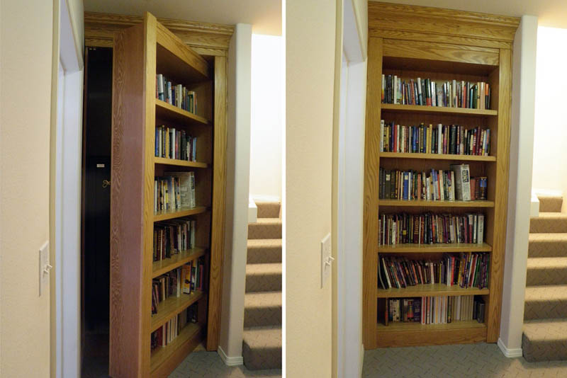 secret passageways in houses creative home engineering 16 35 Secret Passageways Built Into Houses