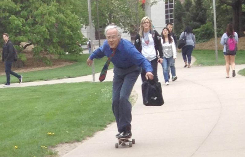 skateboarding professor The Shirk Report   Volume 156