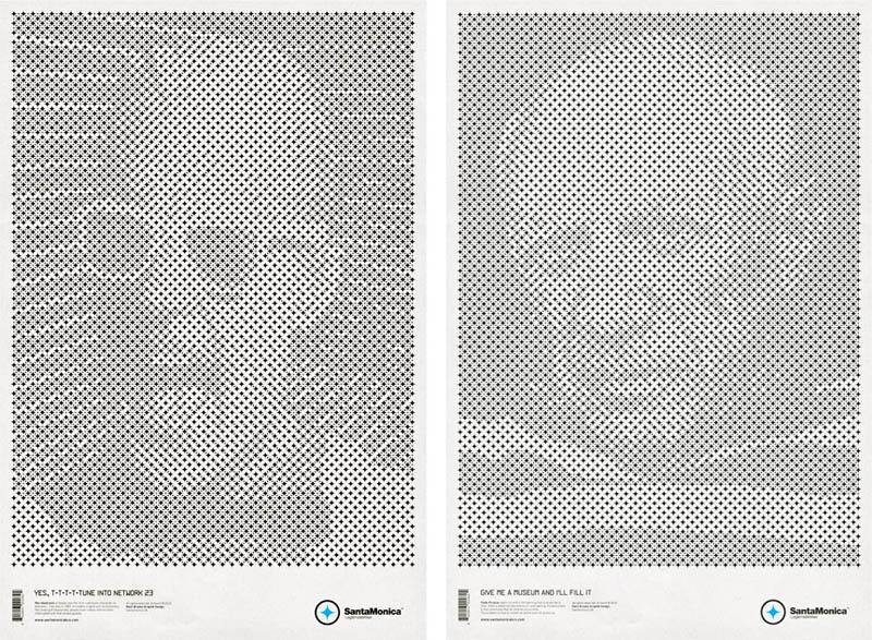 star grid posters mark brooks santamonica 1 13 Creative Star Grid Posters by Mark Brooks