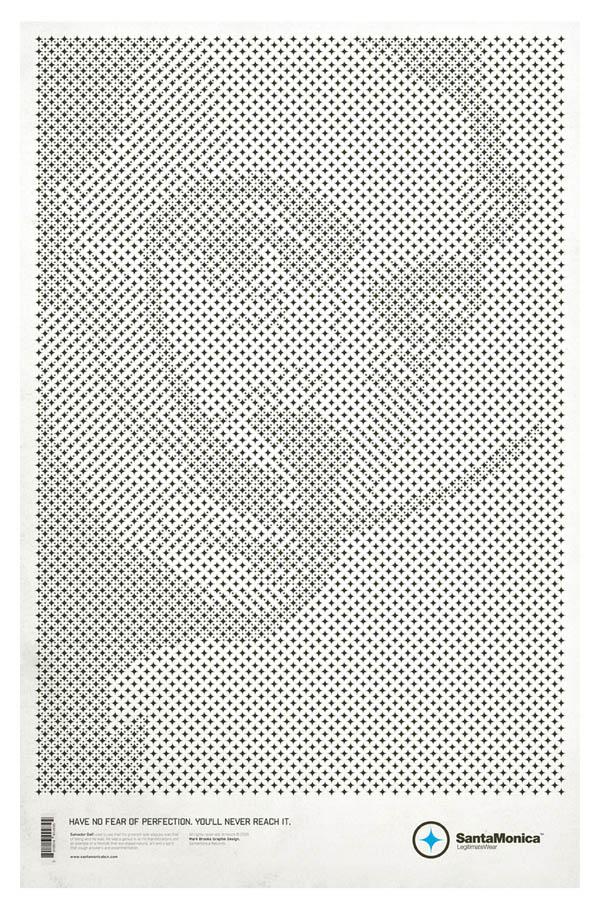 star grid posters mark brooks santamonica 11 13 Creative Star Grid Posters by Mark Brooks