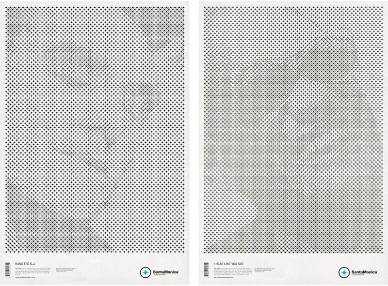 star grid posters mark brooks santamonica 2 13 Creative Star Grid Posters by Mark Brooks