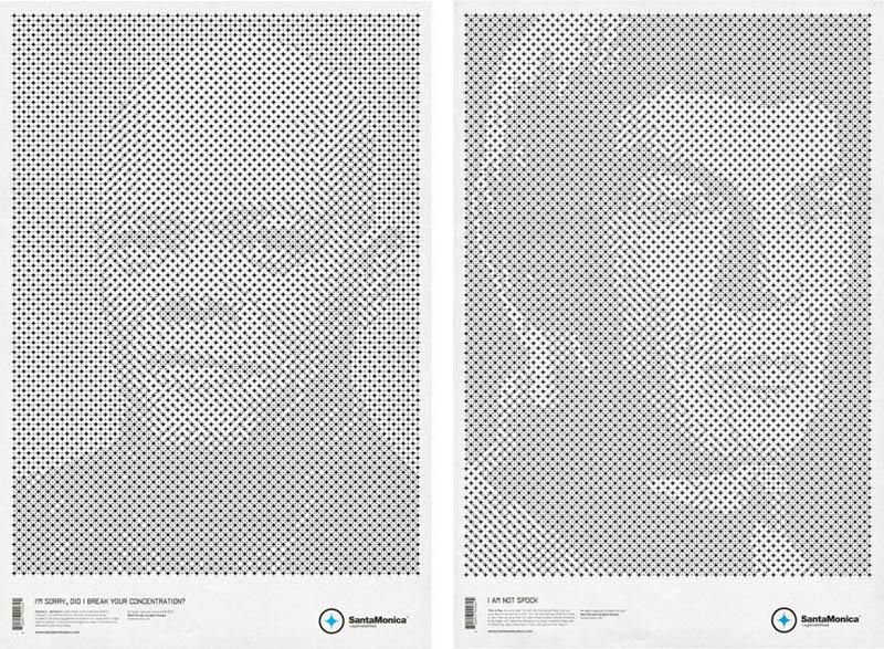 star grid posters mark brooks santamonica 3 13 Creative Star Grid Posters by Mark Brooks