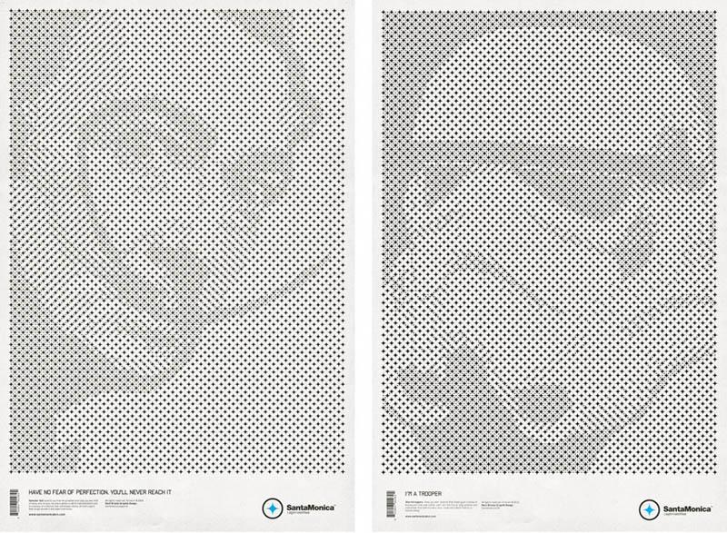 star grid posters mark brooks santamonica 4 13 Creative Star Grid Posters by Mark Brooks