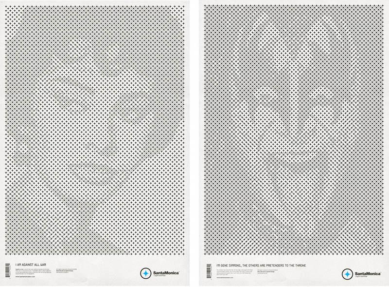 star grid posters mark brooks santamonica 5 13 Creative Star Grid Posters by Mark Brooks