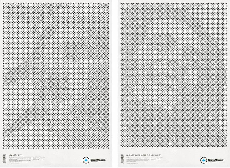 star grid posters mark brooks santamonica 6 13 Creative Star Grid Posters by Mark Brooks