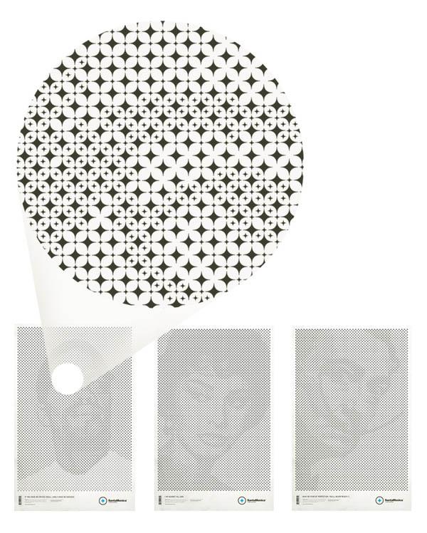 star grid posters mark brooks santamonica 8 13 Creative Star Grid Posters by Mark Brooks