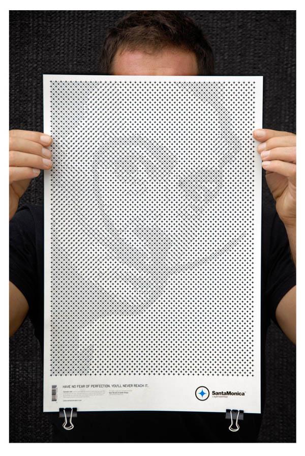 star grid posters mark brooks santamonica 9 13 Creative Star Grid Posters by Mark Brooks