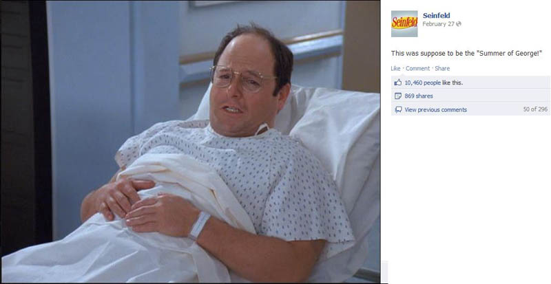 summer of george seinfeld 50 Glorious Moments on Seinfeld
