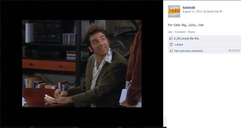 sweet juicy fan seinfeld 50 Glorious Moments on Seinfeld