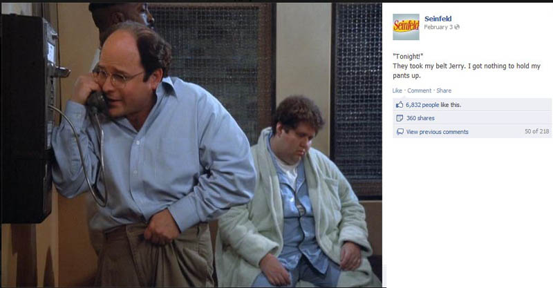 took my belt seinfeld 50 Glorious Moments on Seinfeld