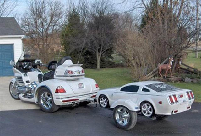 trailers that look like miniature cars 10 16 Bizarre Trailers That Look Like Miniature Cars