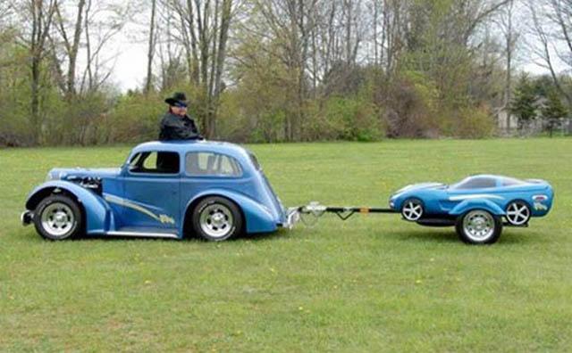 trailers that look like miniature cars 4 16 Bizarre Trailers That Look Like Miniature Cars