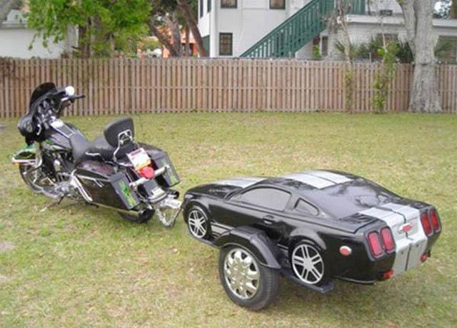 trailers that look like miniature cars 5 16 Bizarre Trailers That Look Like Miniature Cars