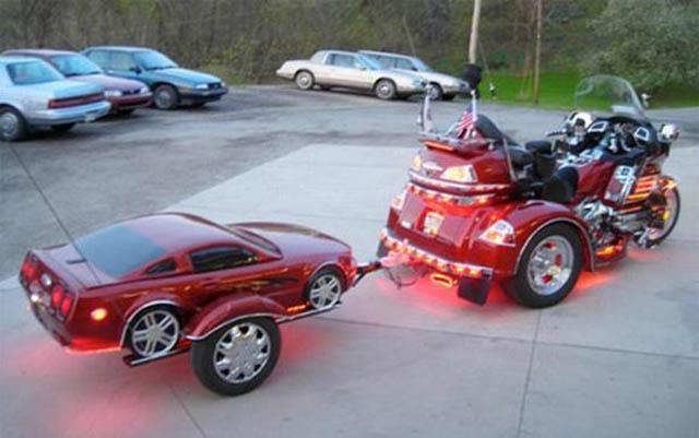 trailers that look like miniature cars 8 16 Bizarre Trailers That Look Like Miniature Cars
