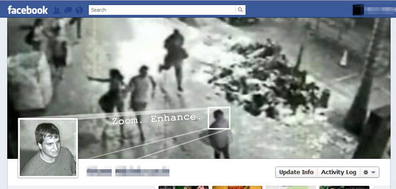 zoom enchance csi facebook timeline cover photo 25 Funny and Creative Facebook Timeline Covers