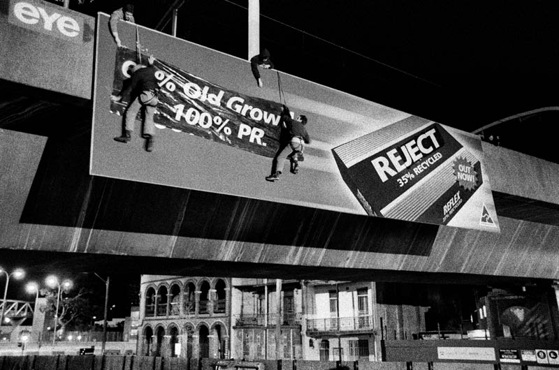 65percent old growth woolloomooloo 1 c2003 c dean sewell 1 Billboard Bandits: An Intimate Portrayal of Culture Jamming