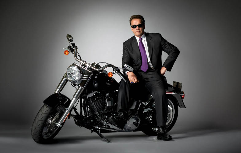 arnold shwarzenegger terminator empire shoot Portraits of Faces Blasted with Wind